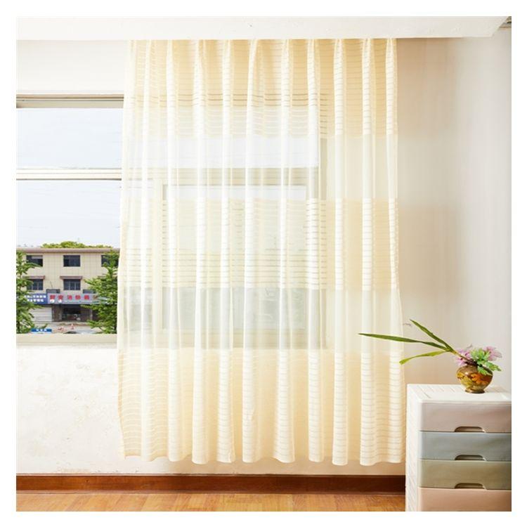 Rideaux de luxe en organza doux, tissu avec impression jacquard, pour fenêtre, livraison rapide, nouveauté