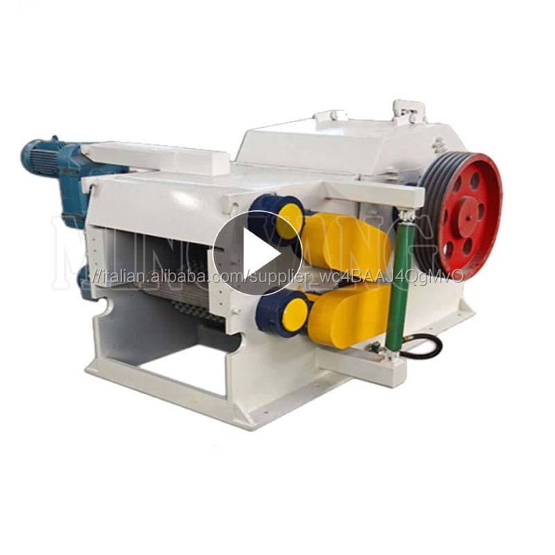 Di alta qualità trucioli di legno che fa macchina/settore legno cippatrice per la pasta di carta/legno chipping macchina
