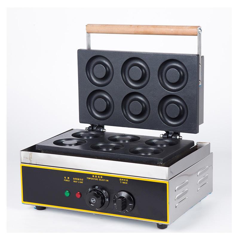 Altı ızgara yuvarlak aperatif aperatif makinesi çok fonksiyonlu imalatçılardan doğrudan tedarik