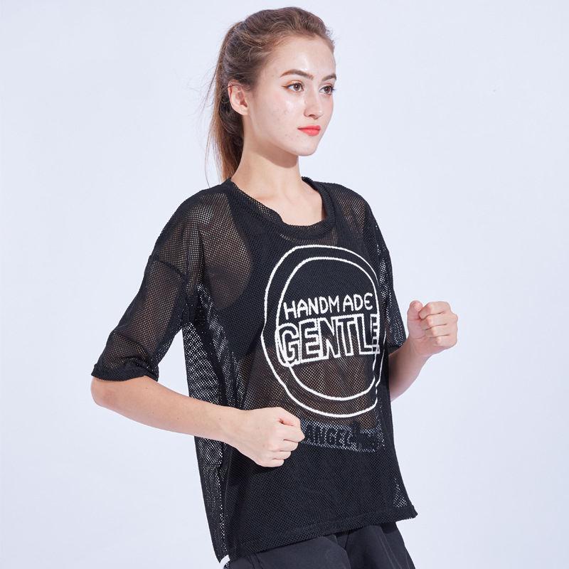 Séchage rapide Femmes Yoga Chemises Vêtements pour la Forme Physique De Sport À Manches Courtes T-shirt