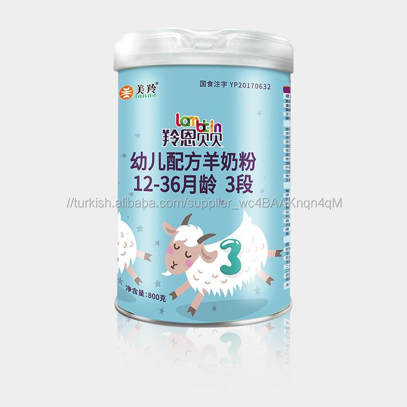 Çin marka Bebek formülü keçi sütü tozu 800g 3 aşamalı bebek formülü süt (12-36months)
