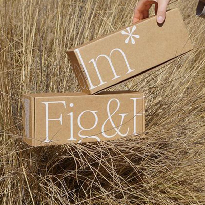 Custom Elegant Fashion Rigid Brown Carton Cheap Cardboard E-commerce cellphone Gift Shipping Box Corrugated