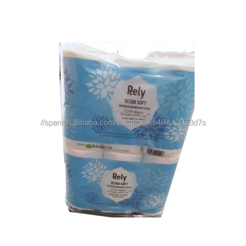 Higiene 3Ply papel higiénico divertido para la cara