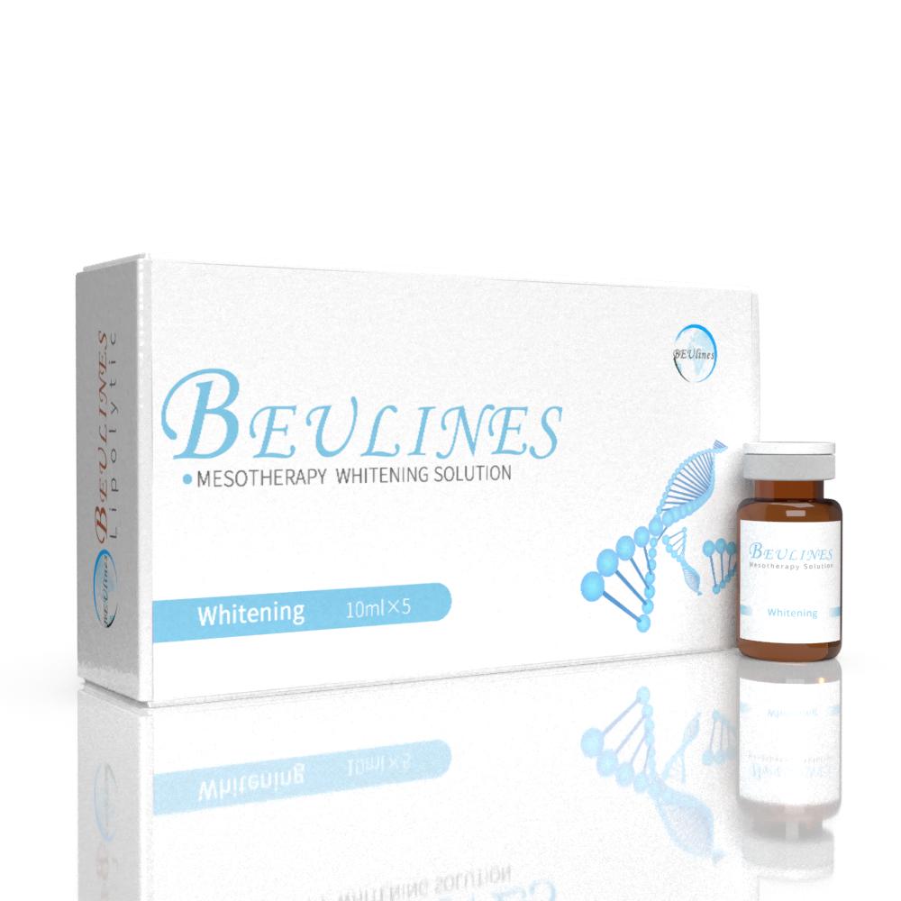 純粋な Glutathion ビタミン C ボディ射出アンプルメソソリューションナチュラル機能血清美白メソセラピーガン