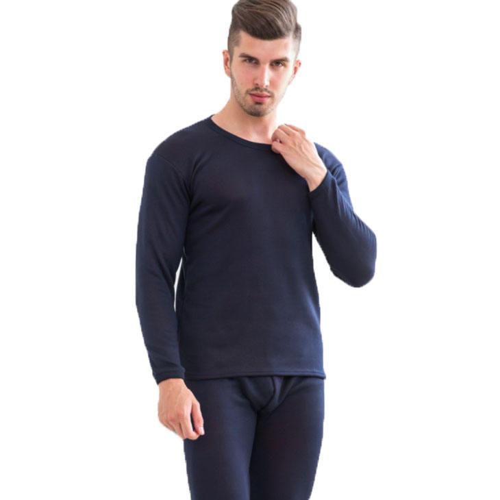 hot sale simple fashion soft men wool merino thermal underwear set custom thermal underwear