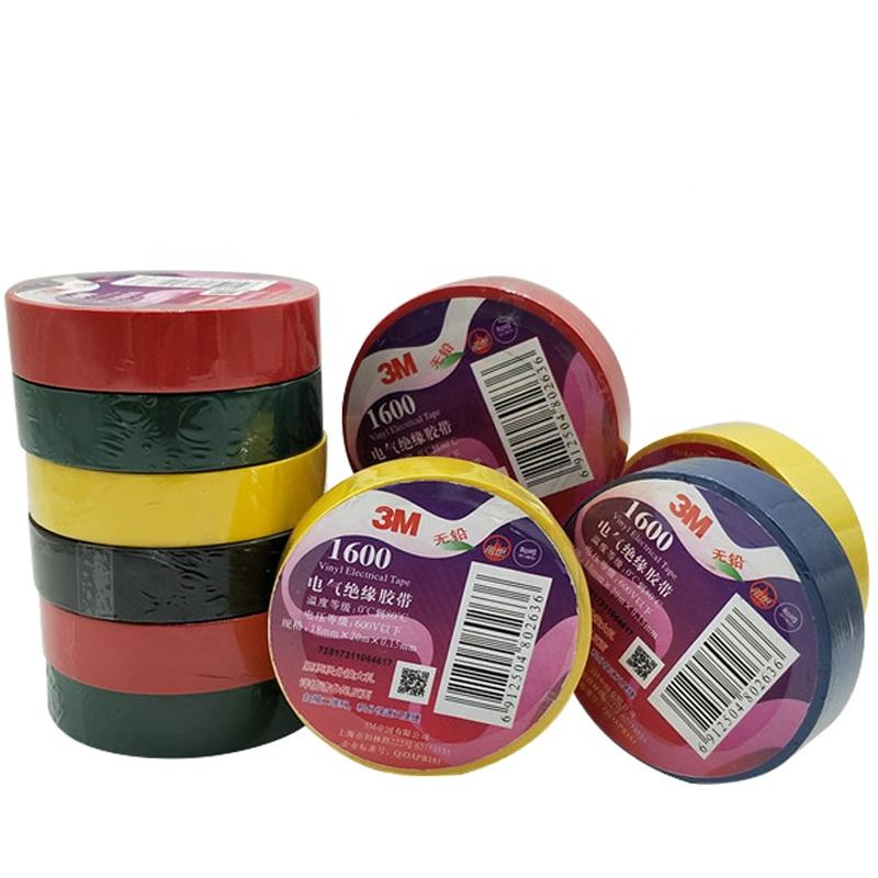 Waterproof flame retardant lead-free PVC insulating 1600 electrical tape for cable protection