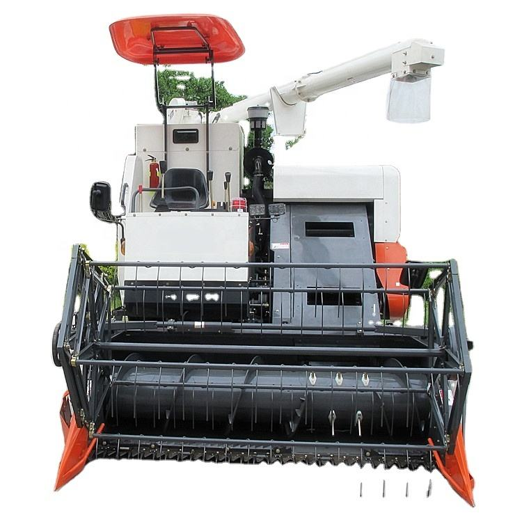 2000 mm Cutter Bar Kubota Rice Combine Harvester for Sale in India