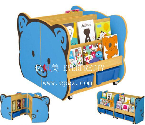Детский сад мебель, детская книжная <span class=keywords><strong>полка</strong></span>, органайзер для игрушек для детей