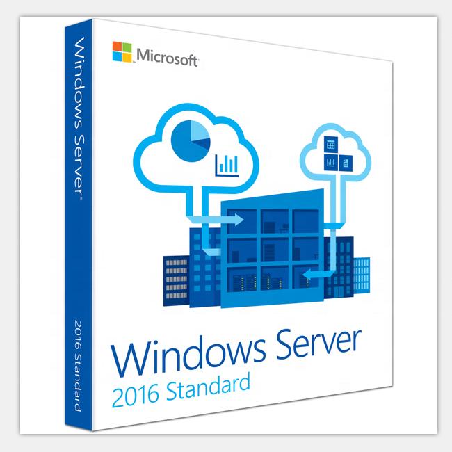Windows 서버 표준 2019 cal 5 장치 64 비트 DVD 소매 상자