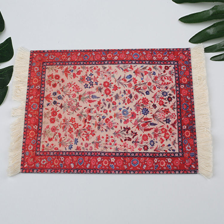230*180mm Oriental Rug/Carpet Mouse Pad wholesale Rug mouse pad rubber mouse pad