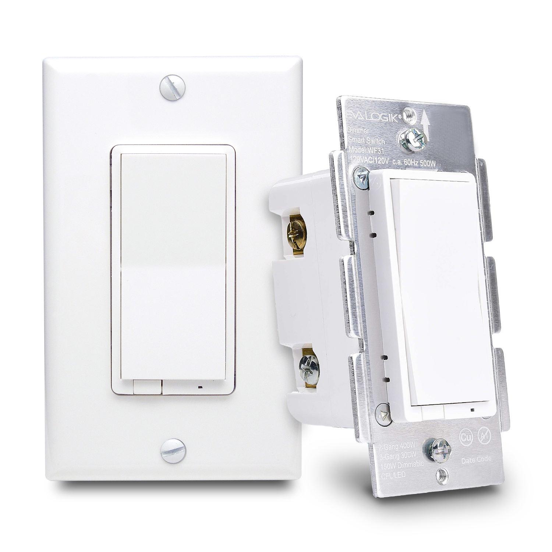 EVA LOGIK CHÚNG TÔI tiêu chuẩn duy nhất dây Điện dây Điện Tường trong dòng dimmer switch cho led chiếu sáng điều khiển từ xa