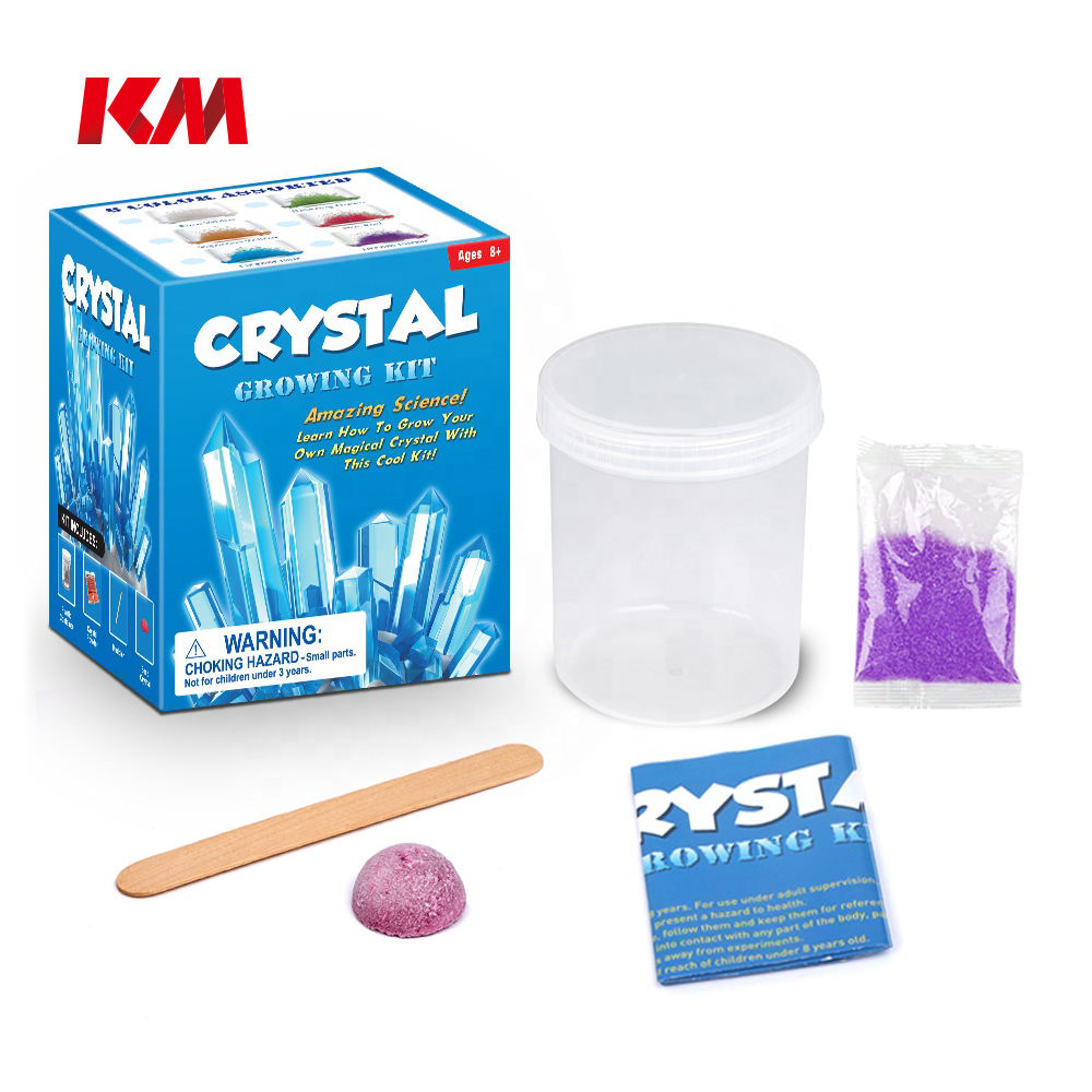 Hot Selling 2020 Amazon Educational Kits DIY Crystal Science Kits Toy Crystal Growing Experiment Kit For Children In Stock