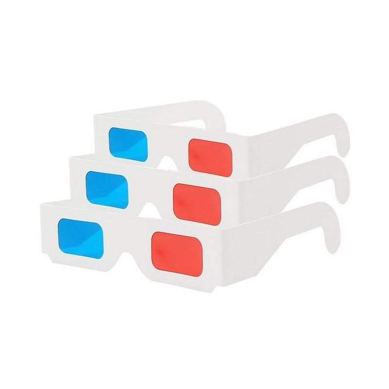 Sıcak satış 3D kırmızı ve mavi film videoları gözlük izlemek için 3D film 3D video 3D Gözlük