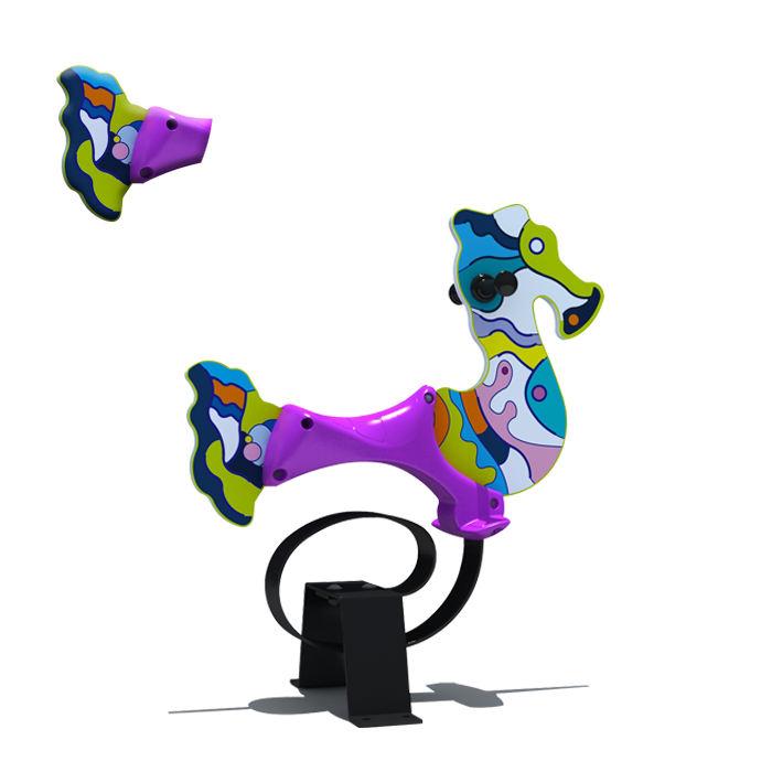 Große pferd schaukel glücklich karussell musik box distinctive merry go round spielplatz ausrüstung