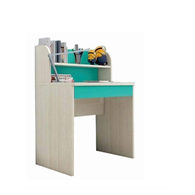 Mesa de estudio de alta calidad para niños, escritorio y mesa de madera de color moderno para niños