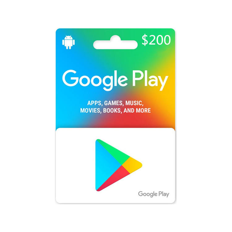 Storable 200US google play gift card