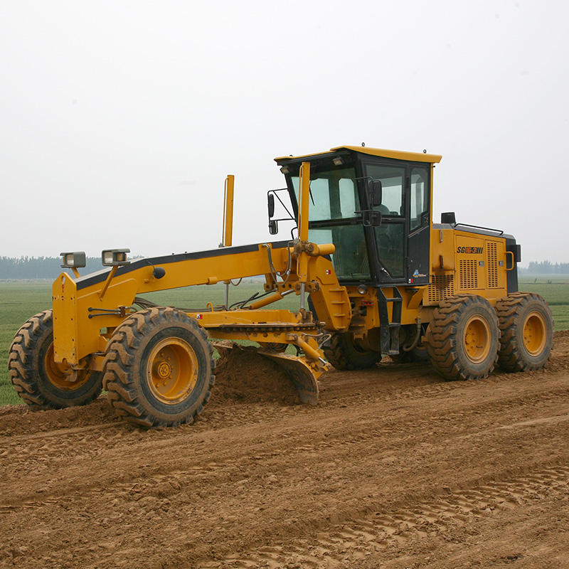 112kw Well-equipped Road Motor Grader mechanical hydraulic Motor Graders with 3660mm Shovel blade
