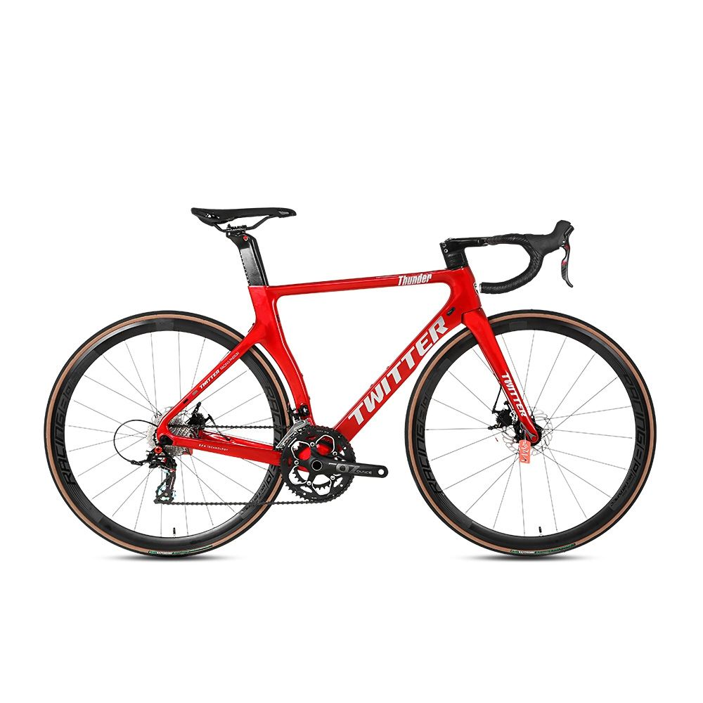 2021 Twitter Thunder New Oem Sepeda Racing Cycle Road Bike Tất Cả Hidden Cable Đĩa <span class=keywords><strong>Xe</strong></span> <span class=keywords><strong>Đạp</strong></span> Aeroic Sợi <span class=keywords><strong>Carbon</strong></span> Road Bike 48Cm/50Cm