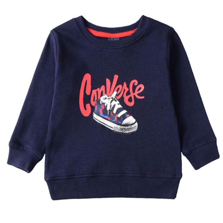 толстовка с длинными рукавами для малышей; Верхняя одежда с буквенным принтом; детская толстовка для мальчиков