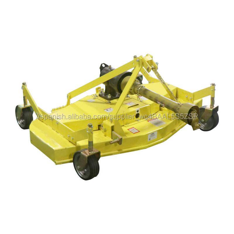 4ft 5ft 6ft Tractor de césped acabado segadora Tractor cortacésped