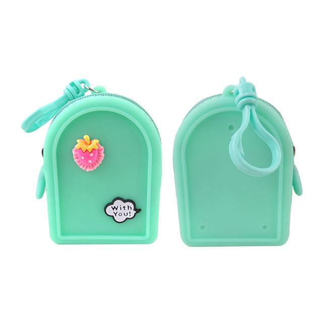 de los niños cambiador bebé creativo lindo pequeño niños bolso bolsos mini silicona <span class=keywords><strong>monedero</strong></span> de la moneda para los niños