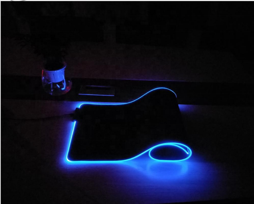 Large Rubber base Big XXL RGB LED gaming the game mat flat mouse pad rgb mousepad rgb mouse pad