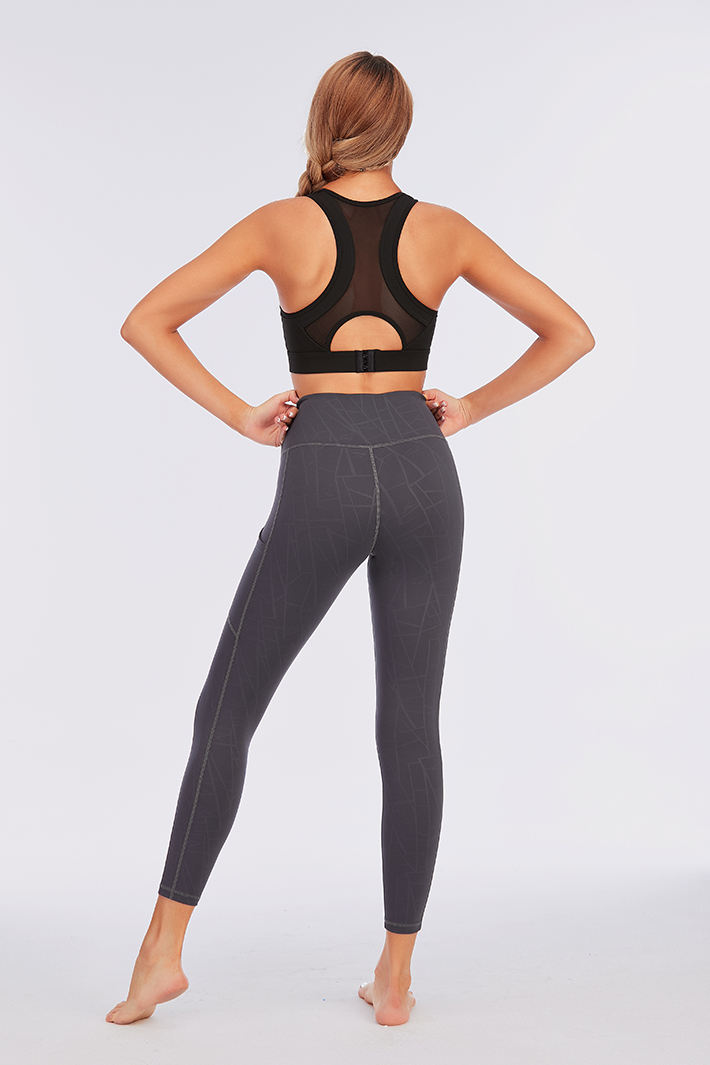Fitness Women Leggings Custom Fitness Apparel Yoga Gym Active Wear Workout Eco Friendly High Waist Leggings For Women