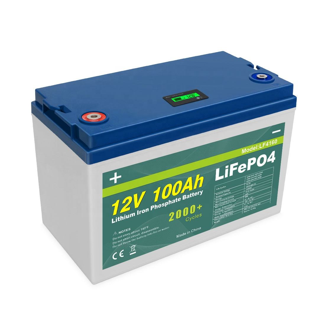 12v Lifepo4 Lithium Battery Rechargeable Long Life 3.2v 12.8V 150Ah 200Ah 300Ah 280Ah Lifepo4 Solar Battery Pack Cell 12V 100Ah Lithium Ion Batteries