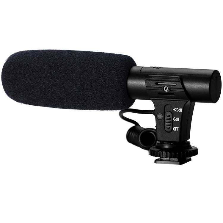 Haute Sensibilité Caméra Microphone Condenseur Studio D'enregistrement Numérique Microphone Mobile Entretien Micro