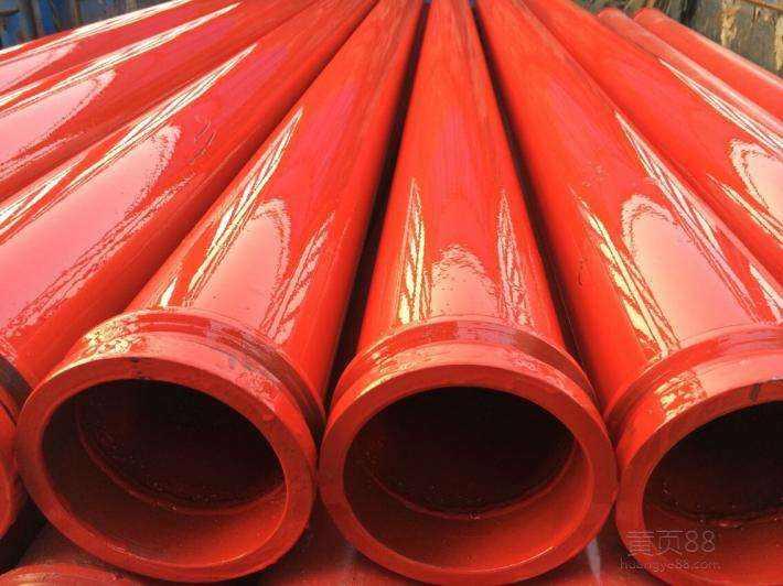 Bomba de hormigón Zoolion Dn125 Tubo de acero recto