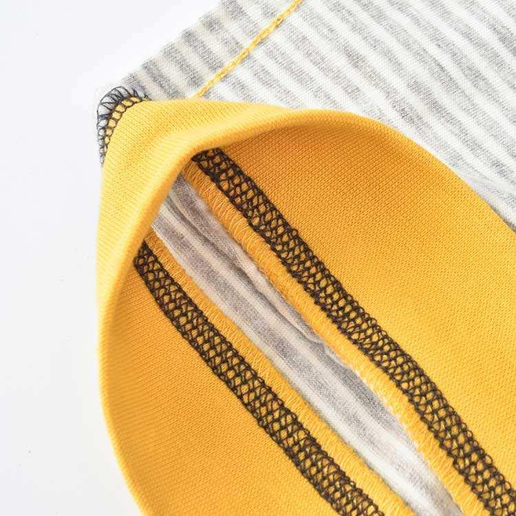 с капюшоном и воротником в желто-серую полоску; оптовая продажа; пуловер с принтом; 5,6 унций; толстовка для мальчиков