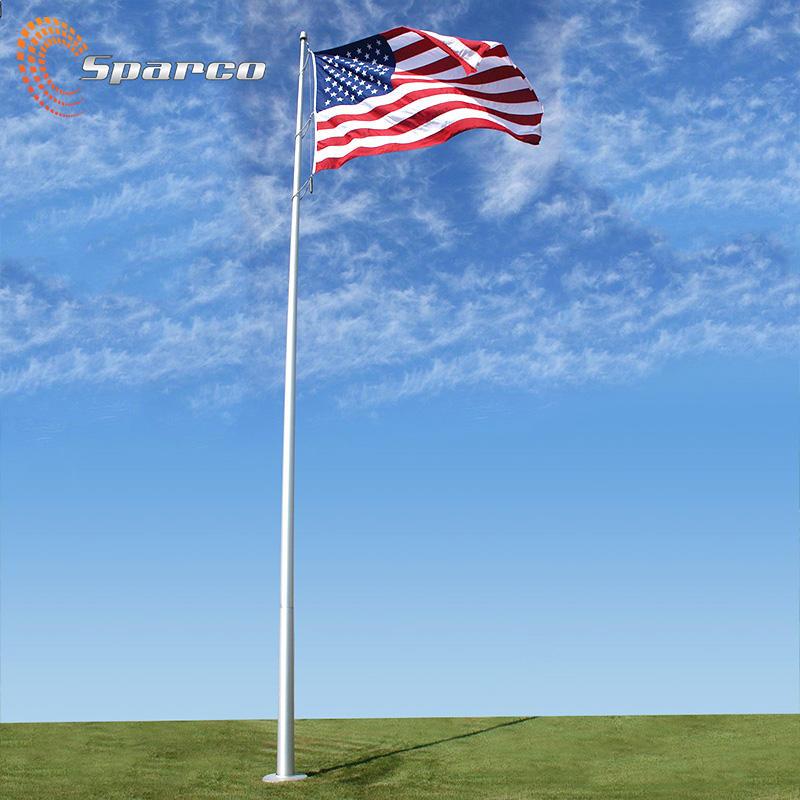 Sparco 6-100 алюминиевая прутковая заготовка шкива синхронизации/нержавеющий стальной столб для флага стальной флагшток производители 7 метров шиномонтажный станок с ручным флагшток из алюминия