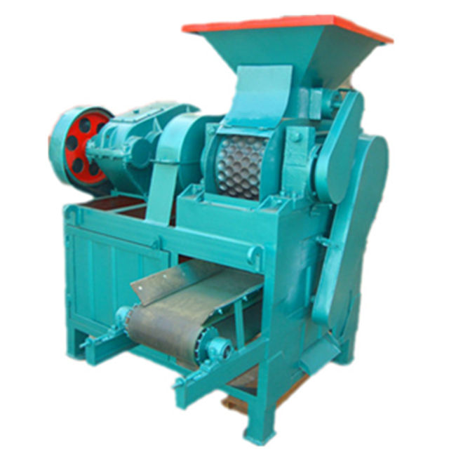 popular and good sale roller press coal briquetting machine