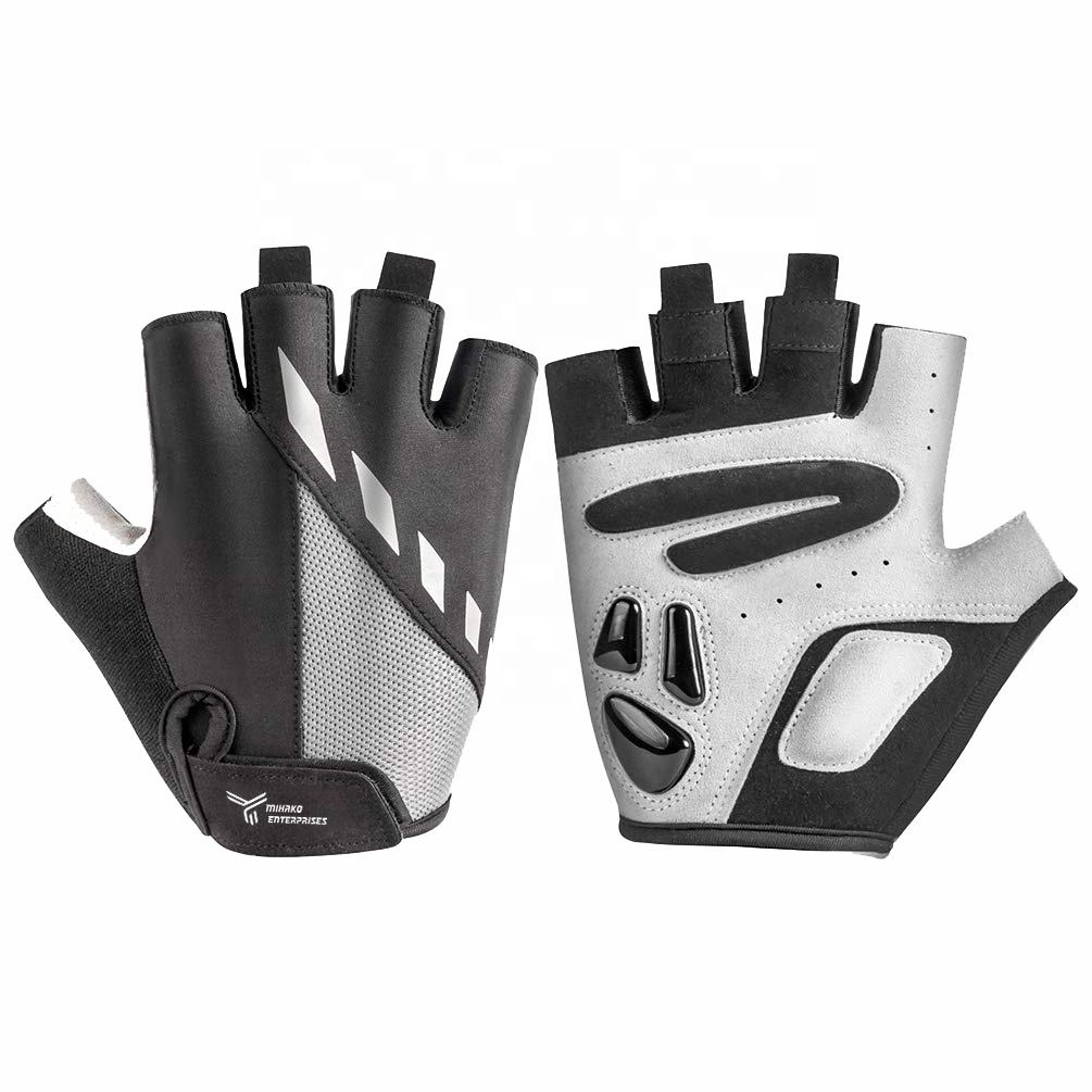 OEM service High quality Bicycle Gloves for Men half finger Cycling Glove Motorcycle Mountain Bike Gloves