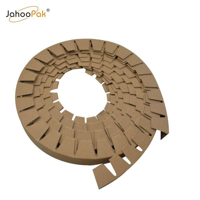 Стальная катушка с использованием круглой формы бумажная кромка для транспортной упаковки