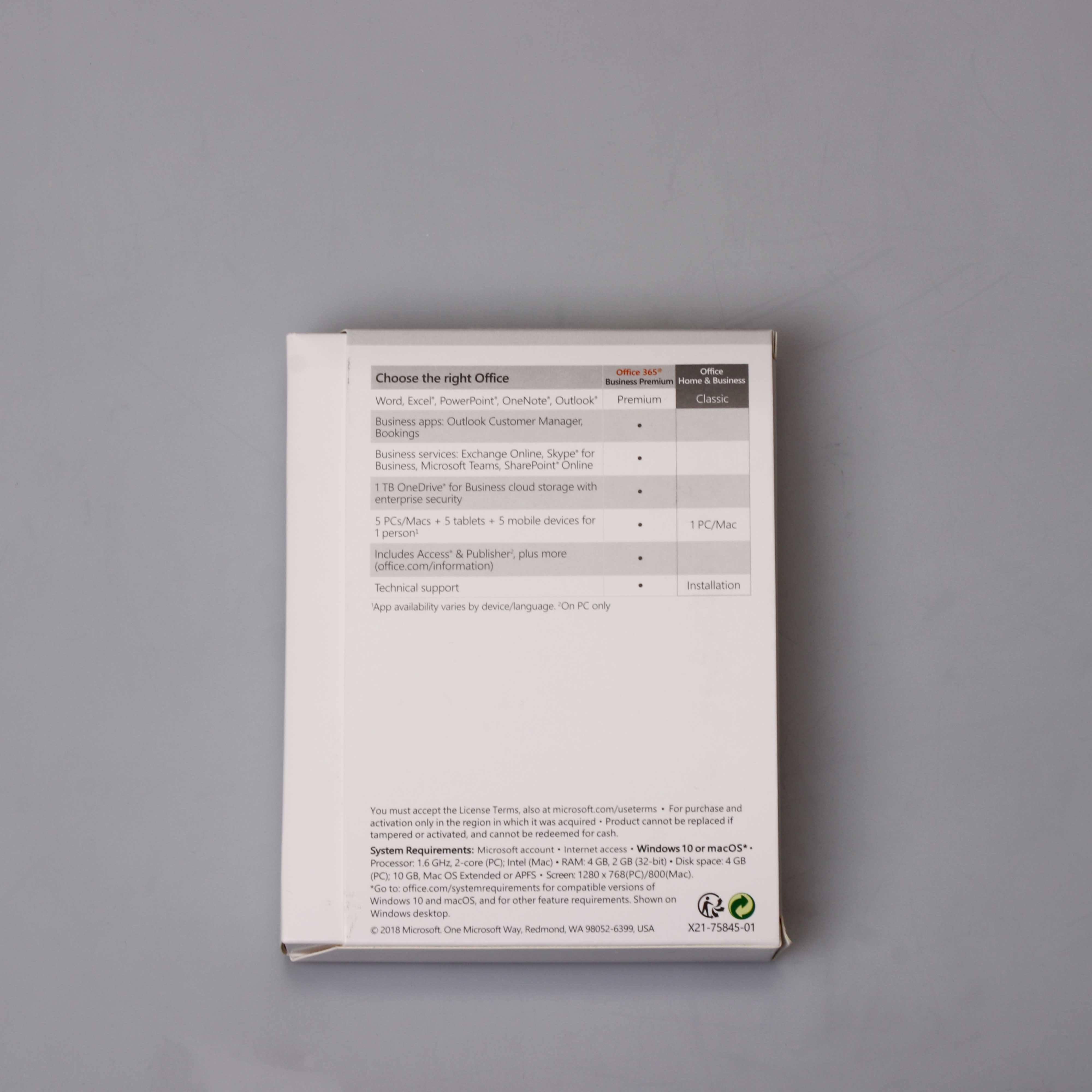 Atacado office 2019 software de mercado pacote de licença de software MS Office Genuíno FPP