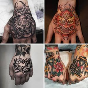 Henna tattoo intim