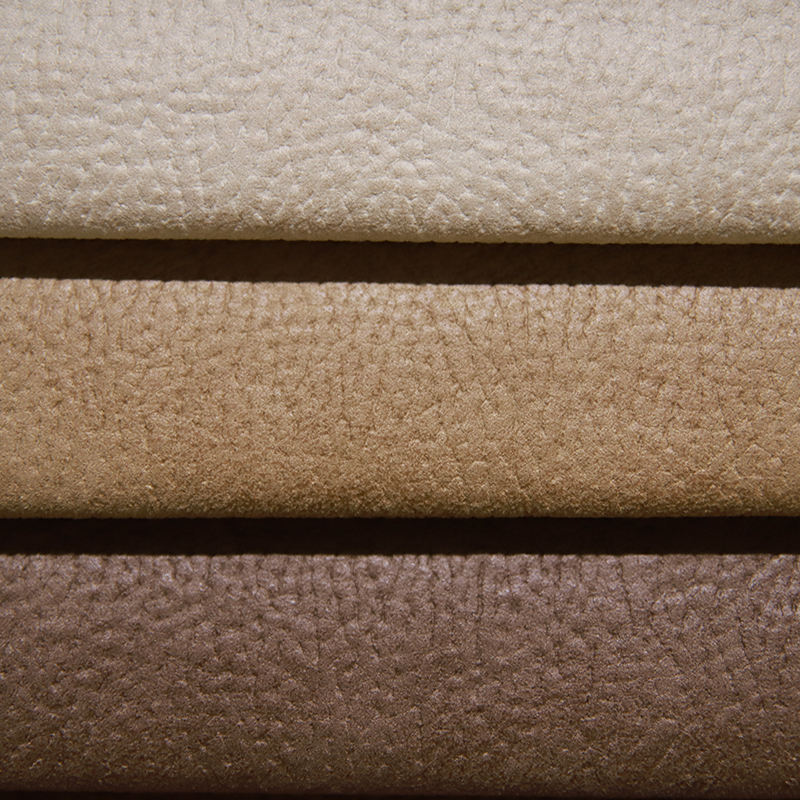 JES Leather Look 100% Polyester Imitation Leather Suede Sofa Furniture Fabric Supplier