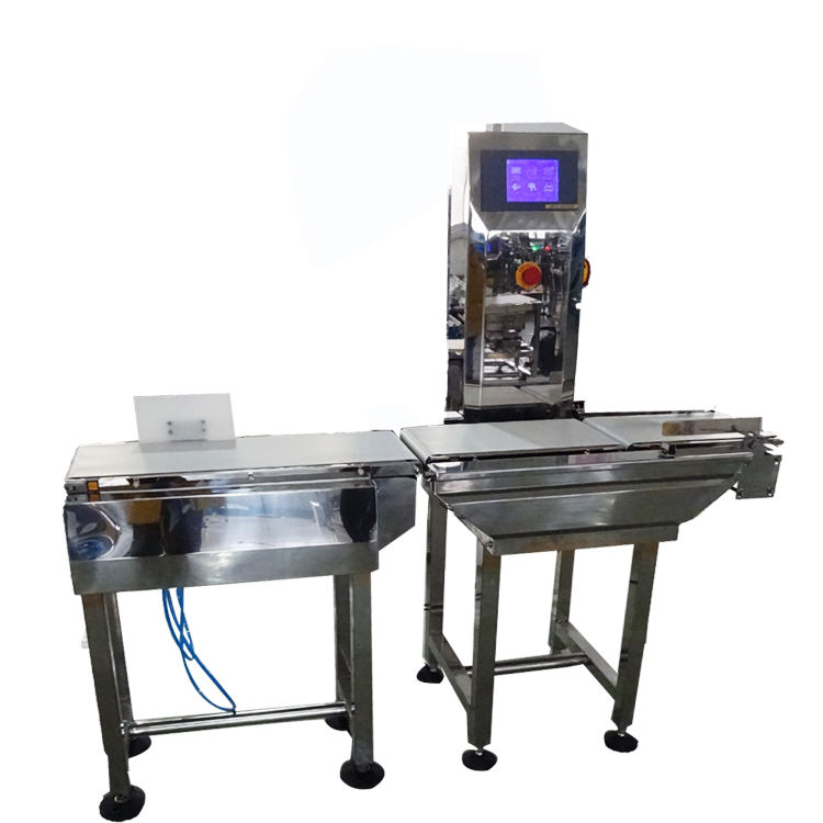 CWC-230NS Check weigher for Caramels Mix Dog Food Packing, check weigher