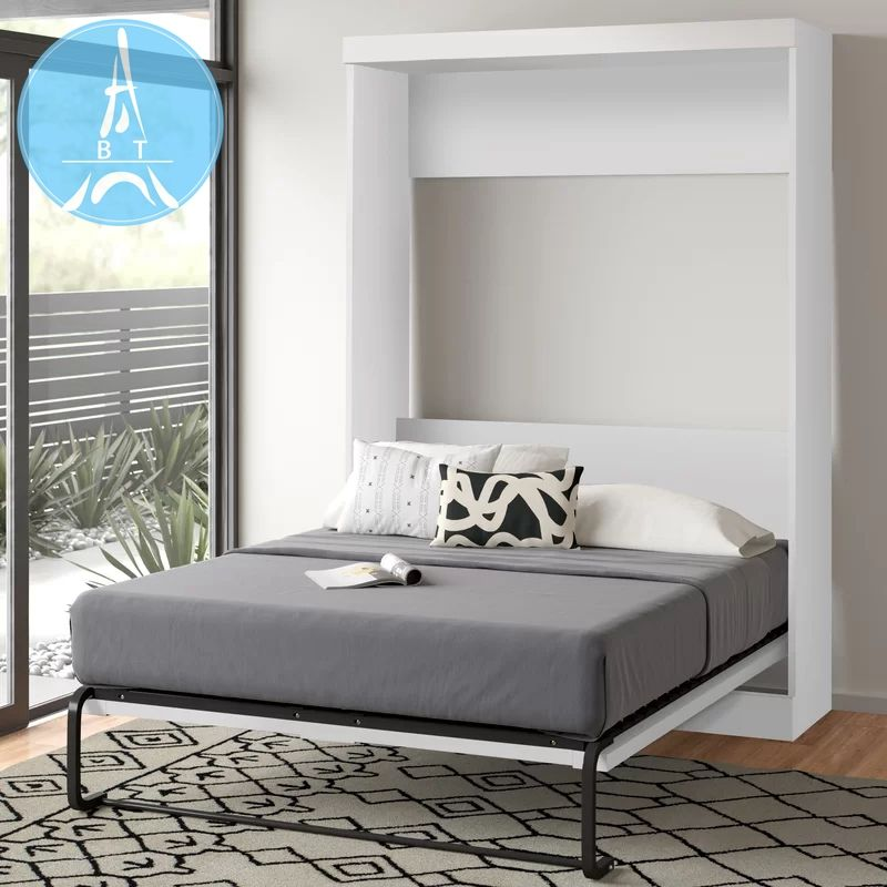 Simple Design Home Furniture Wall Bed Multifunctional Folding Bed Space Saving Murphy Bed