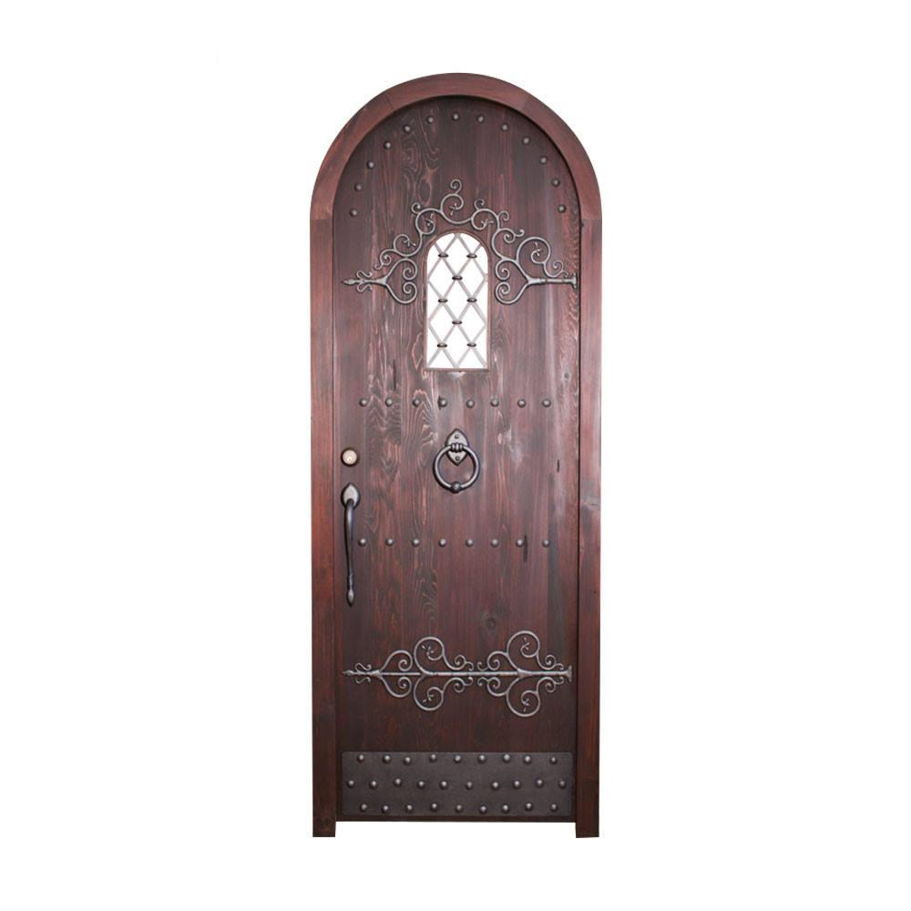 Lowes griglia in ferro battuto porta di sicurezza interna in legno disegni