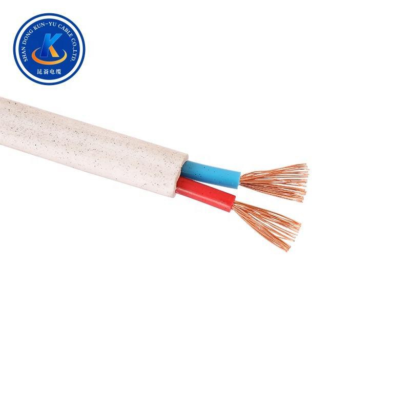 Top qualität isoliert wohnung kupfer-core draht für telekommunikation ausrüstung flache standard duplex draht duplex ac draht