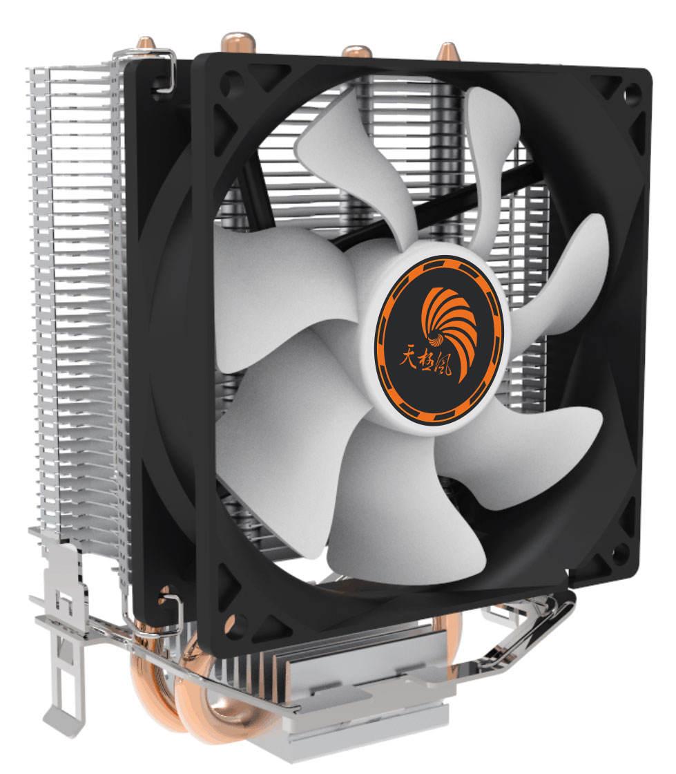 Подгонянная Длинная жизнь медная тепловая труба процессор <span class=keywords><strong>радиатор</strong></span>