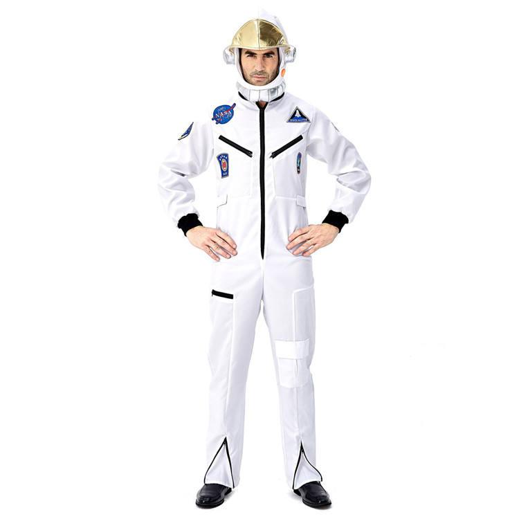PoeticExst piloto traje de astronauta de Halloween Cosplay disfraz para adultos