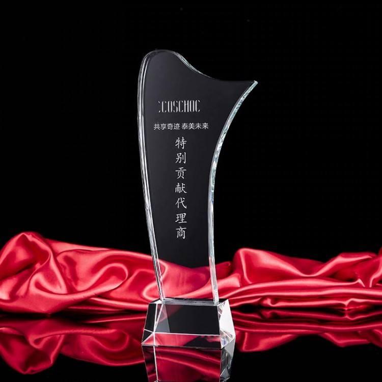 Trofeo <span class=keywords><strong>de</strong></span> encargo del <span class=keywords><strong>cristal</strong></span> del karate del trofeo del levantamiento <span class=keywords><strong>de</strong></span> pesas del proveedor chino para el recuerdo