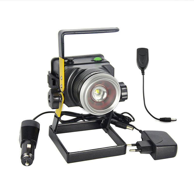 Горячая продажа Zoom прожектор 18650 аккумулятор перезаряжасветодио дный светодиодный прожектор