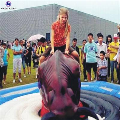 Passeios de parque de diversões inflável montaria em touro <span class=keywords><strong>mecânico</strong></span> para venda barato
