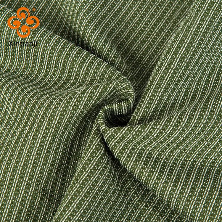 55% doppio filo di cotone 45% lino poliestere come il tessuto francese spugna tessuto a maglia