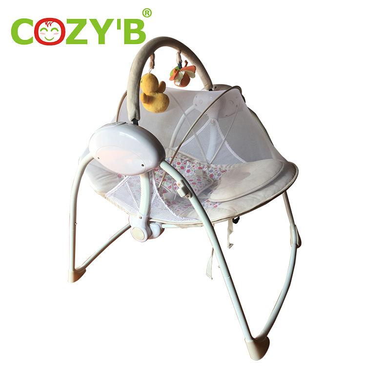 Nuevo nacido electrónicos silla vibradora <span class=keywords><strong>niño</strong></span> <span class=keywords><strong>Rocker</strong></span>/bebé silla mecedora