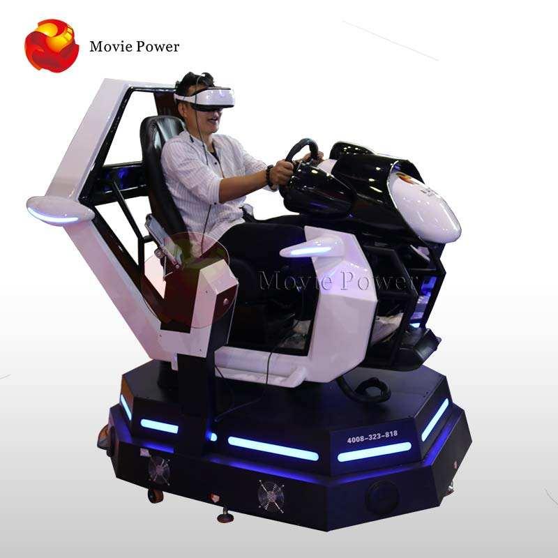 سوبر سباق سيارة مقعد 9D Vr F1 محاكي القيادة الواقع الافتراضي سباق ألعاب دعم على الانترنت ماكينة ألعاب السيارات